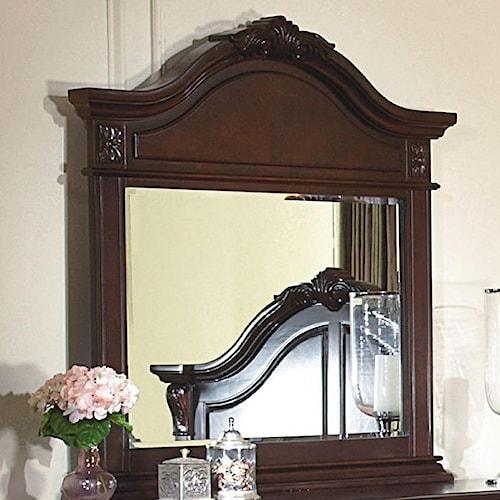 New Classic Emilie Mirror w/ Decorative Pediment