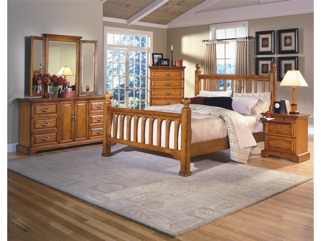 Shown with Lift Top Chest, Poster Bed, and Nightstand