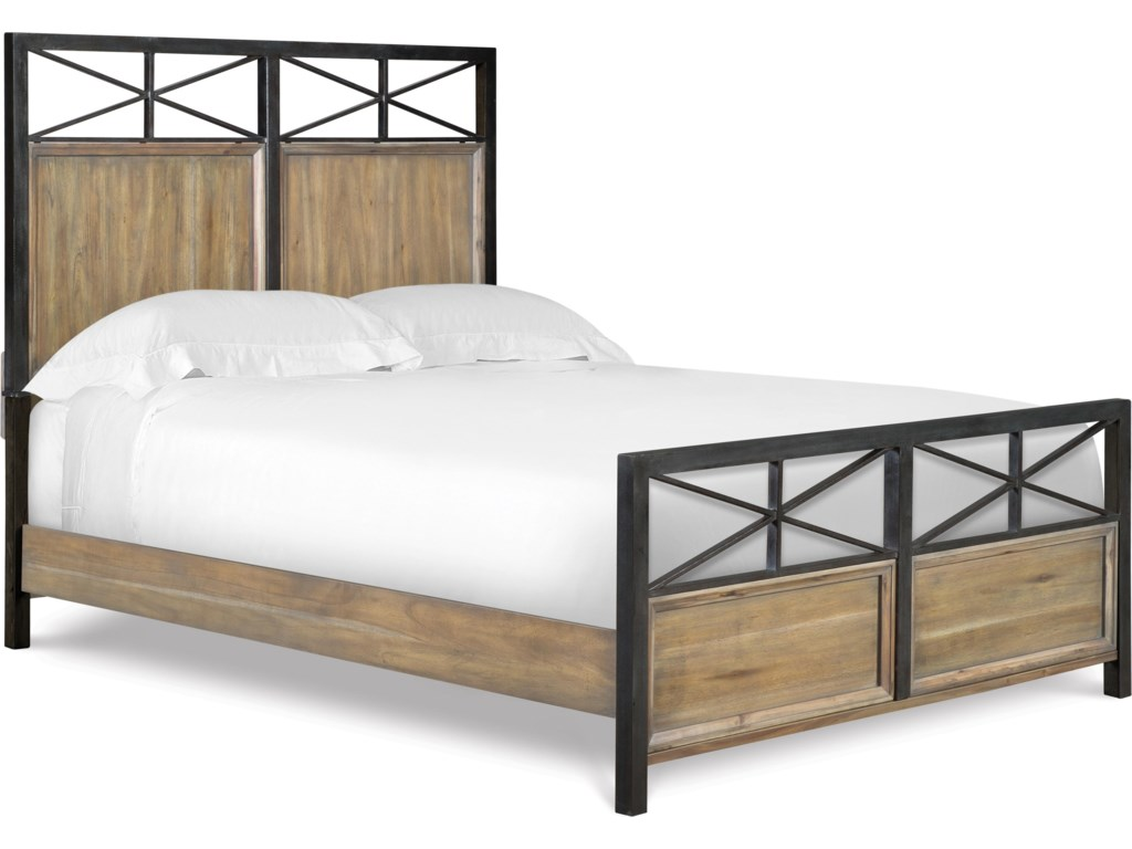 Next Furniture Bedroom Next Generation By Magnussen Bailey Twin Size Metal Wood Bed