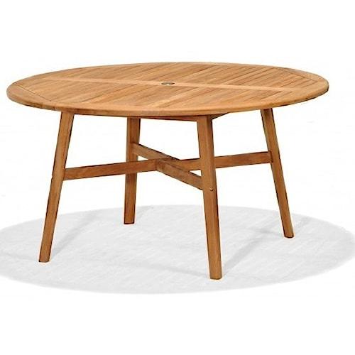NorthCape International Braeburn 2035 Outdoor Dining Table