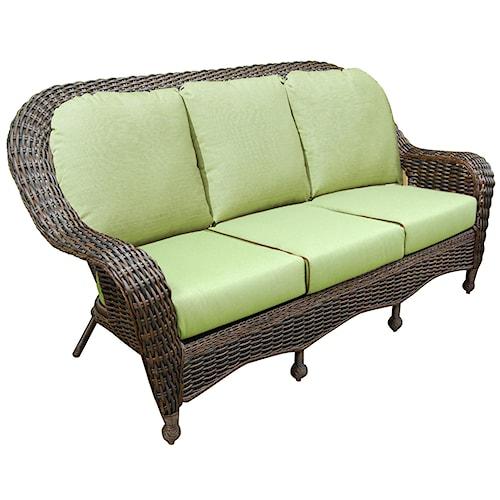 NorthCape International Briarwood 3 Seater Sofa w/ Cushion