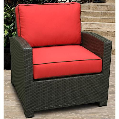 NorthCape International Cabo Club Chair w/ Cushion