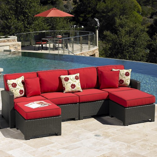 NorthCape International Cabo Contemporary Outdoor Sectional