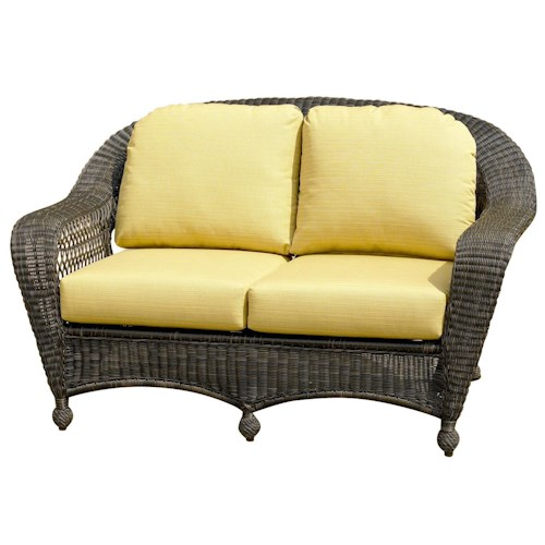 NorthCape International Charleston Wicker Loveseat