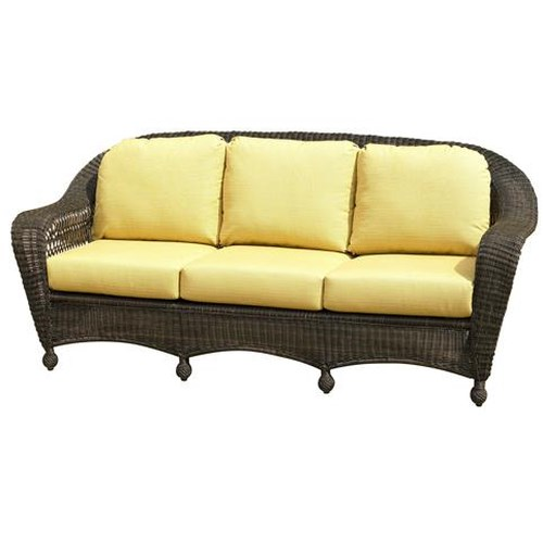 NorthCape International Charleston Wicker Sofa