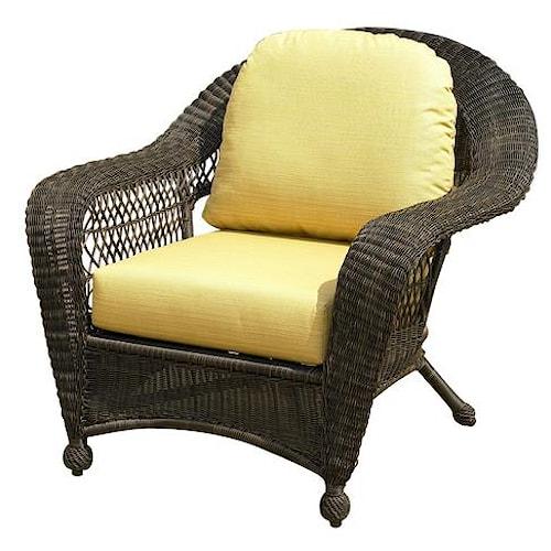 NorthCape International Charleston Wicker Chair