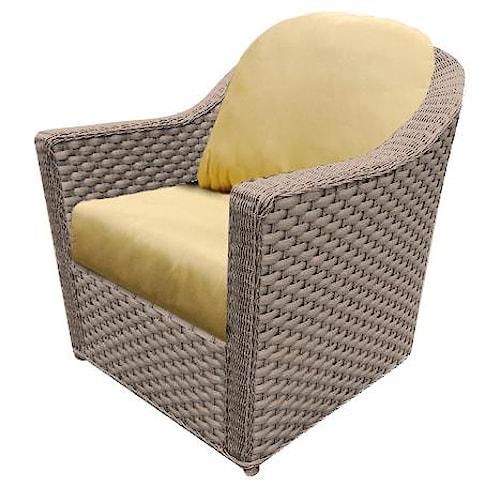 NorthCape International Covington Contemporary Club Chair