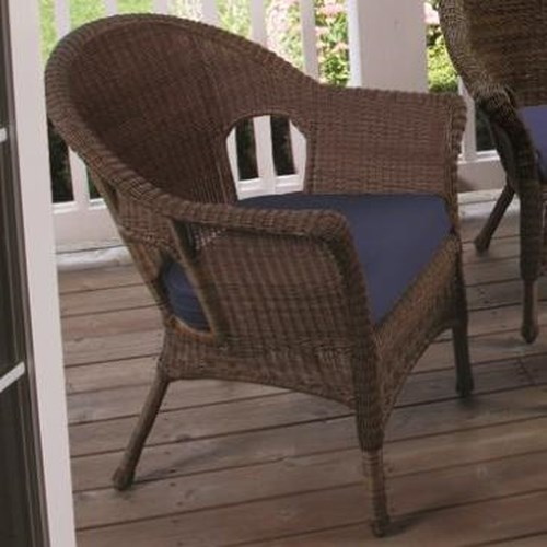 NorthCape International Darby Chair with Cushioned Seat