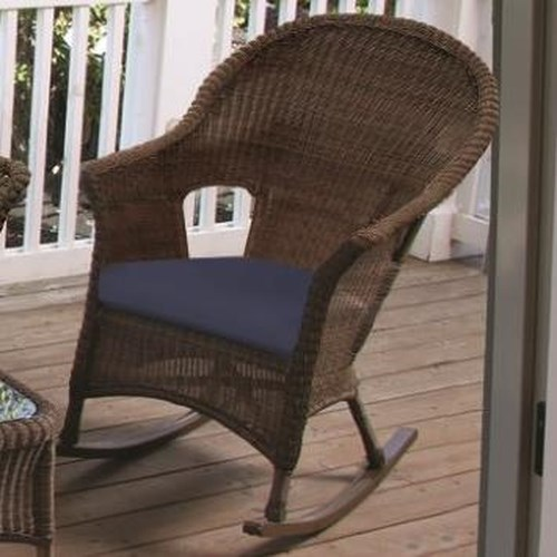 NorthCape International Darby Rocking Chair with Cushioned Seat