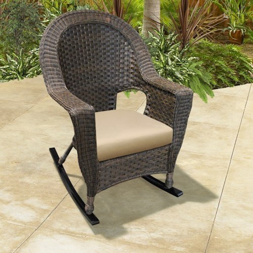 NorthCape International Georgetown NC Outdoor Rocking Chair