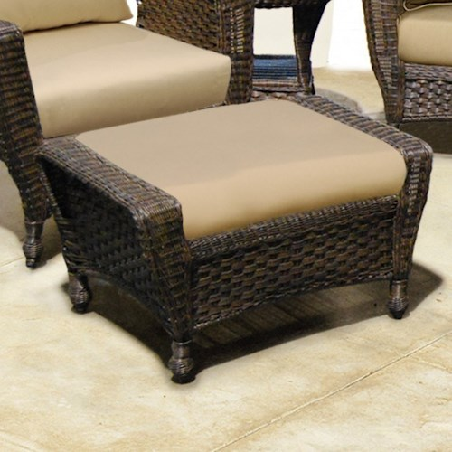 NorthCape International Georgetown NC Outdoor Ottoman