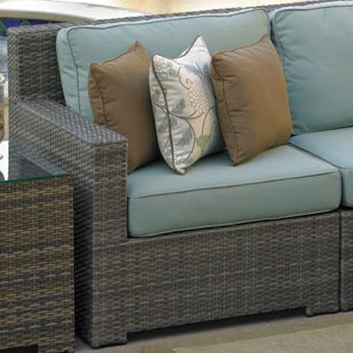 NorthCape International Malibu Sectional Left Arm Chair w/ Cushion