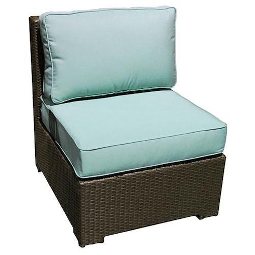 NorthCape International Malibu Sectional Middle Chair w/ Cushion