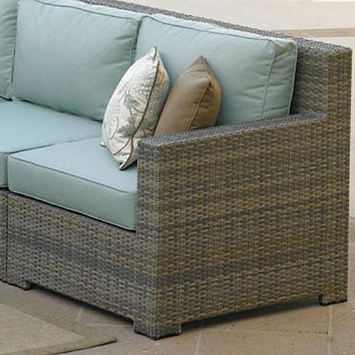NorthCape International Malibu Sectional Right Arm Chair w/ Cushion