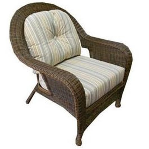 NorthCape International Wyndham Casual Chair with Splayed Rear Legs and Removable Cushions