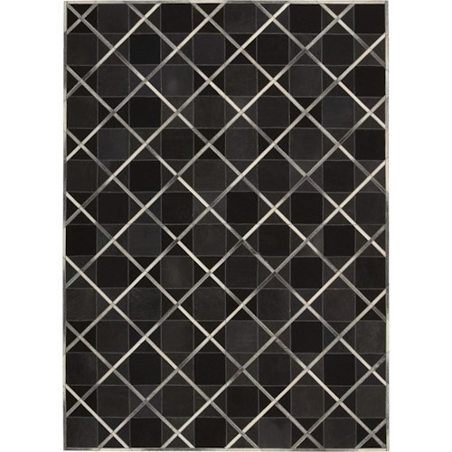 Nourison Barcaly Butera Lifestyle - Cooper 8' x 11' Coal Area Rug