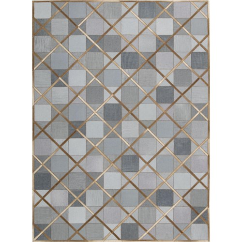 Nourison Barcaly Butera Lifestyle - Cooper 4' x 6' Denim Area Rug