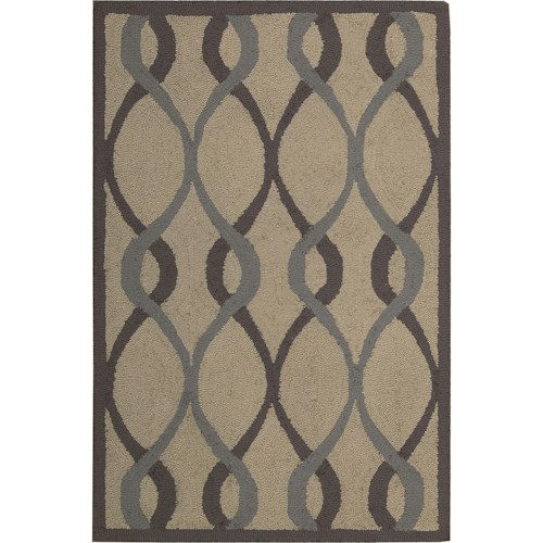 Nourison Decor 8' x 10' Taupe Area Rug