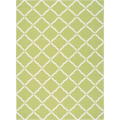 Nourison Home & Garden 10' x 13' Light Green Area Rug