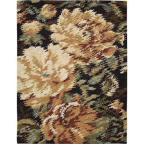 Nourison Impressionist 4' x 6' Harvest Area Rug