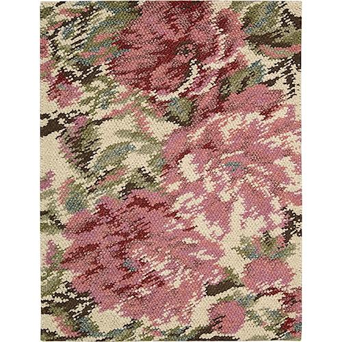 Nourison Impressionist 4' x 6' Pastel Area Rug