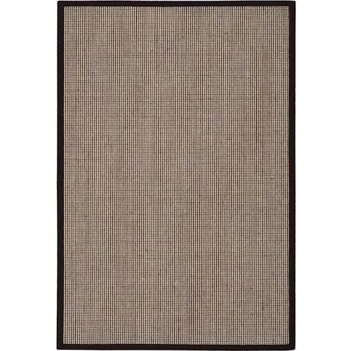 Nourison Kathy Ireland Home presents Seascape 4' x 6' Husk Area Rug
