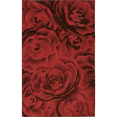 Nourison Moda 8' x 11' Crimson Area Rug