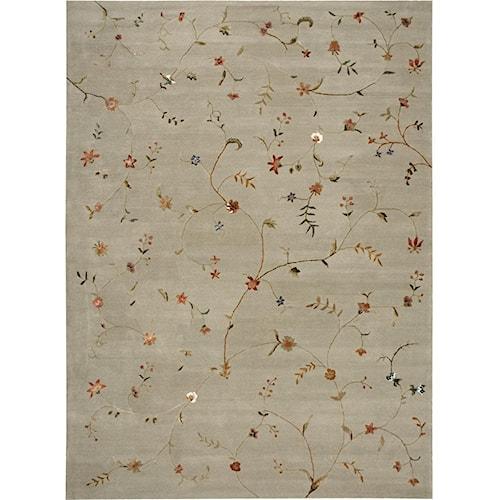 Nourison Modern Elegance 8' x 11' Sage Area Rug