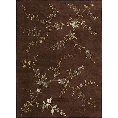 Nourison Modern Elegance 8' x 11' Brown Area Rug