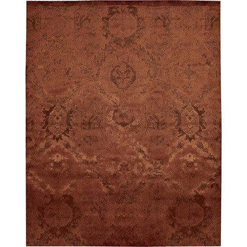 Nourison Nightfall 12' x 15' Flame Area Rug