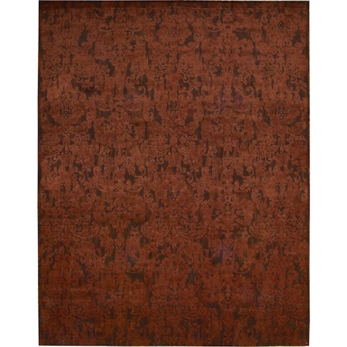 Nourison Nightfall 12' x 15' Brick Area Rug