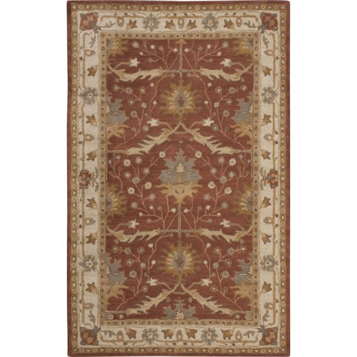 Nourison India House 5' x 8' Brick Area Rug