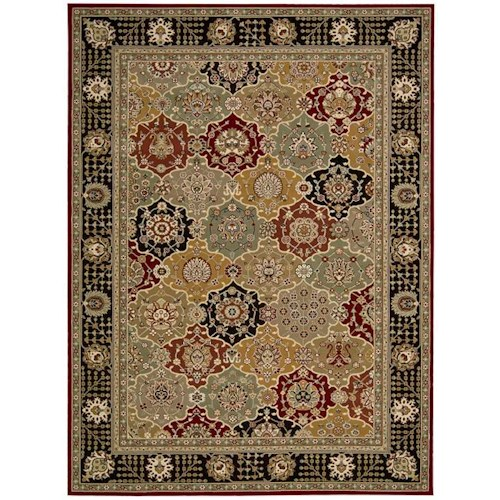 Nourison Persian Crown Area Rug 5'3