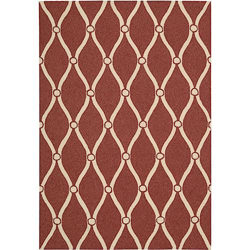 Nourison Portico 2' x 3' Red Area Rug