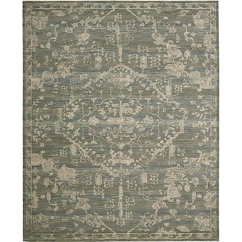 Nourison Silk Elements 12' x 15' Azure Area Rug