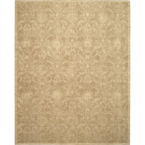 Nourison Silk Elements 12' x 15' Sand Area Rug