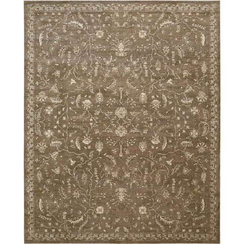 Nourison Silk Elements 12' x 15' Cocoa Area Rug