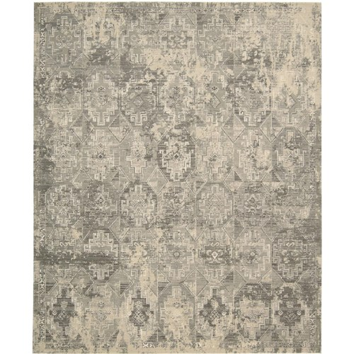 Nourison Silk Elements 12' x 15' Mushroom Area Rug