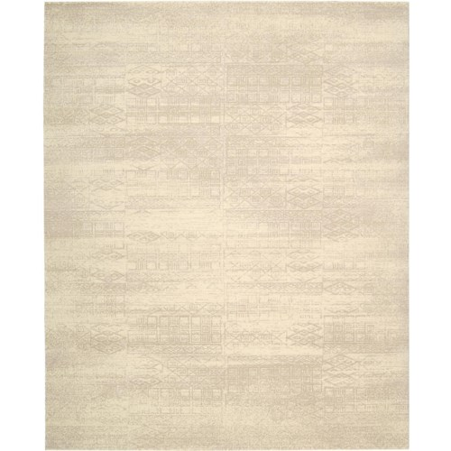 Nourison Silk Elements 12' x 15' Bone Area Rug
