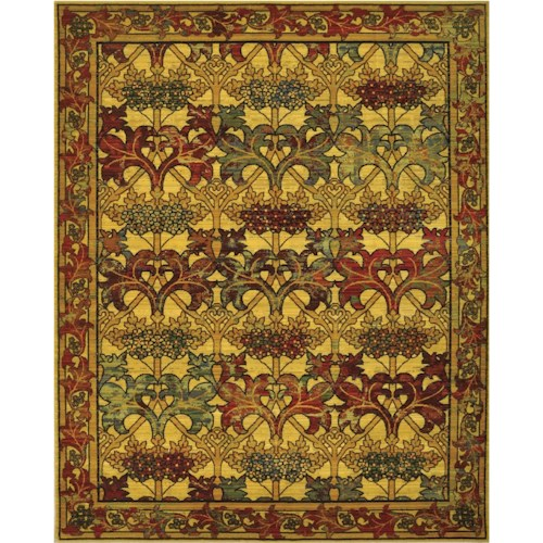 Nourison Timeless 12' x 15' Stained Glass Area Rug