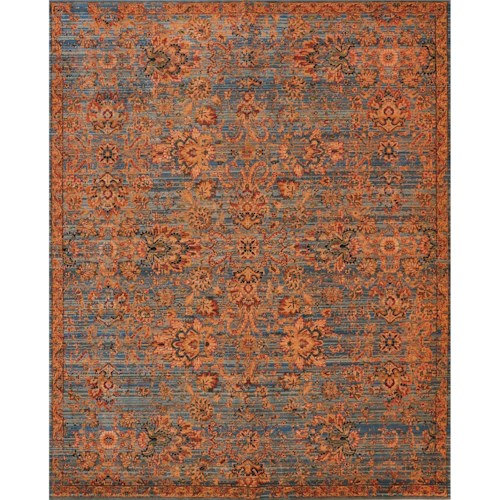Nourison Timeless 12' x 15' Teal Area Rug