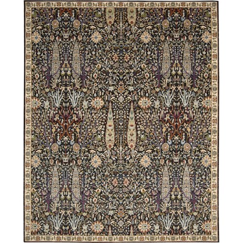 Nourison Timeless 12' x 15' Navy Area Rug
