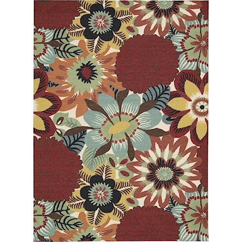 Nourison Vista 5' x 7' Multicolor Area Rug