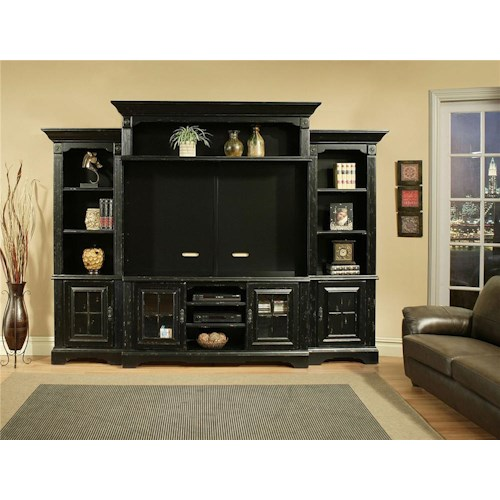 Morris Home Furnishings Somerset 5pc Wall Unit