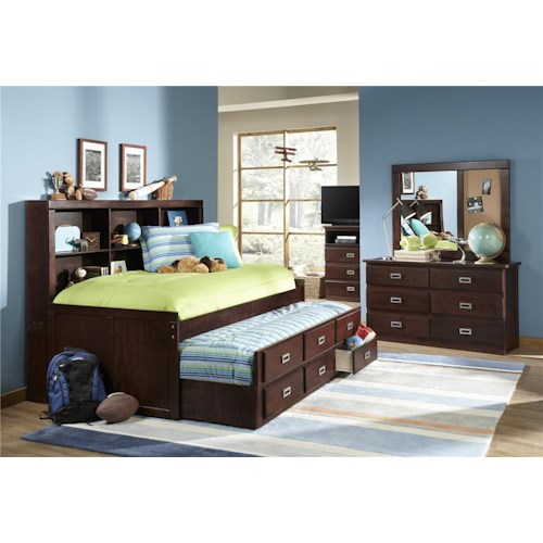 Morris Home Furnishings Urbana Twin Daybed with Trundle