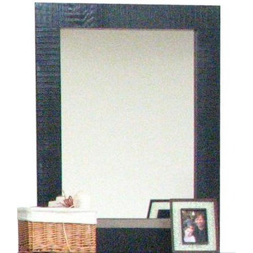 Morris Home Furnishings Frisco Mirror in Black