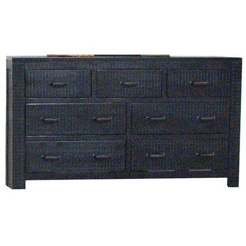 Morris Home Furnishings Frisco Dresser in Black