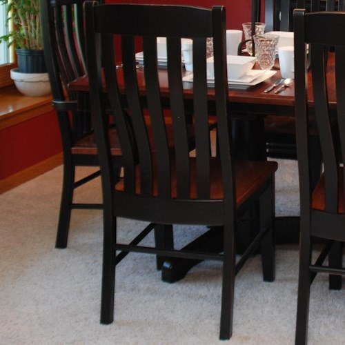 Oakwood industries casual dining contour side