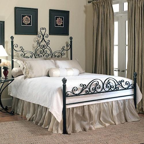 Old Biscayne Designs Custom Design Iron and Metal Beds Arabesque Metal Bed. Custom Design Iron and Metal Beds  METAL  by Old Biscayne Designs