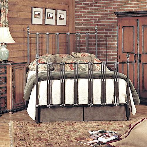 Old Biscayne Designs Custom Design Iron and Metal Beds Dimitri Metal Bed. Custom Design Iron and Metal Beds  METAL  by Old Biscayne Designs